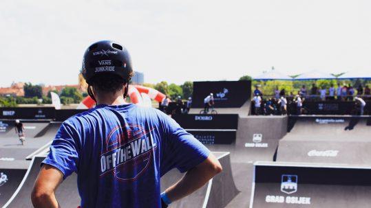 Aké Vansky nosí BMX jazdec Michal Kovačovič
